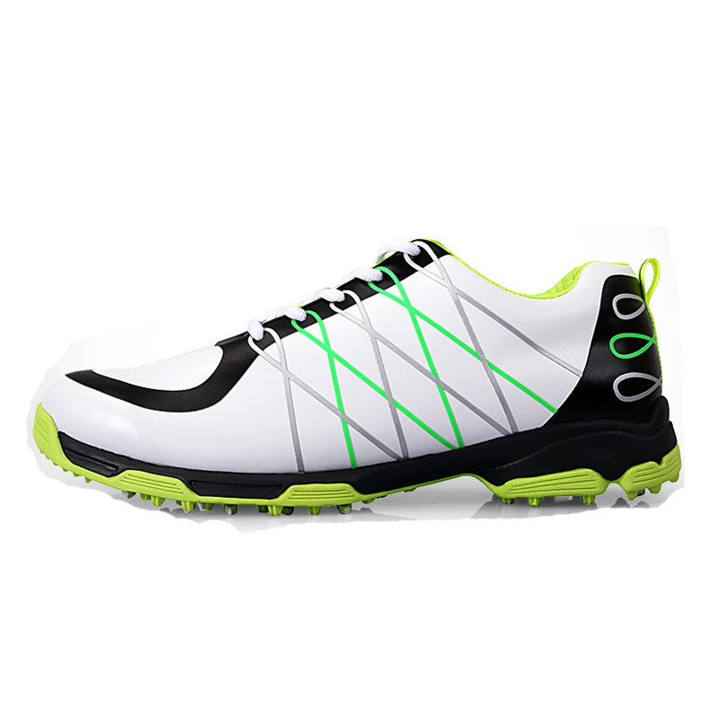 Super Light Microfiber Waterproof Golf Shoes