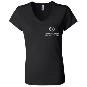 SC&J Logo Ladies' Jersey V-Neck T-Shirt!