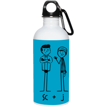 "SC&J ""BUDDY""  20 oz. Stainless Steel Water Bottle"