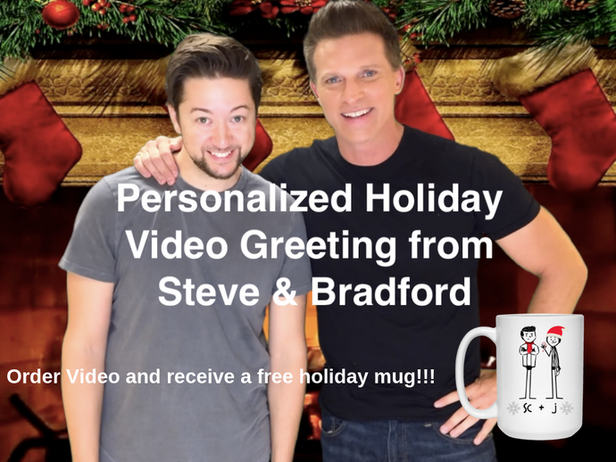 Personalized Holiday Video Greeting with free Holiday Mug!