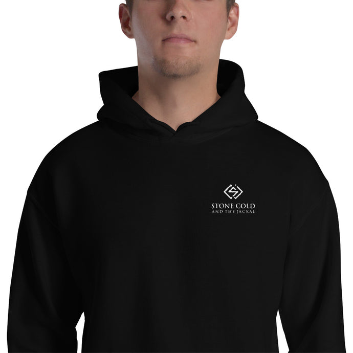 EMBROIDERED SC&J Logo Hooded Sweatshirt!