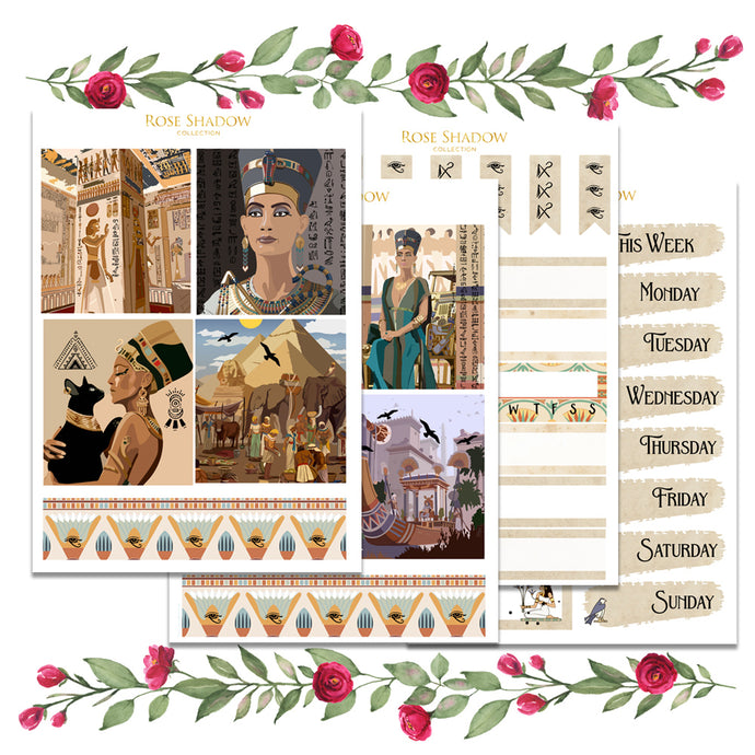 Nefertiti Mini Kit (Exclusive Clipart)