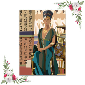 Nefertiti Throne Dashboard (Exclusive Clipart)