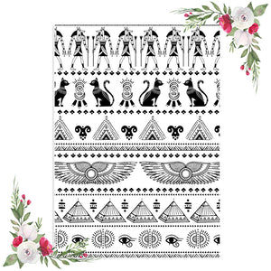 Ancient Egypt Pattern Vellum / Acetate