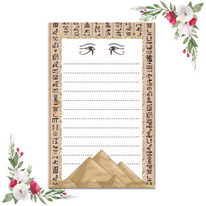 Ancient Egyptian  Notepad