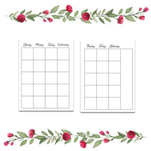 Load image into Gallery viewer, Gentle Touch monthly/weekly combo insert