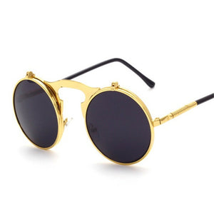 Fold Out Steampunk Sunglasses