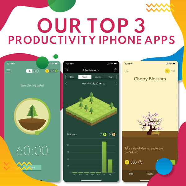 Our Top 3 Productivity iPhone Apps