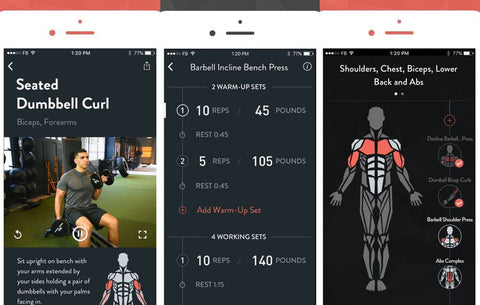 2020 fitness goals iphone app