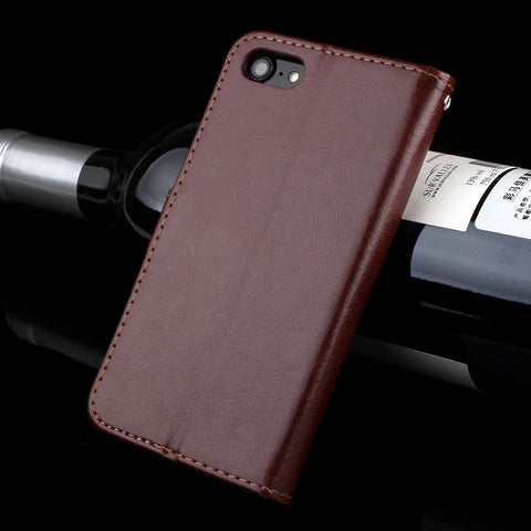 leather wallet case for iPhone