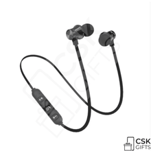Wireless Bluetooth Magnetic Earphones Sweat Proof Sports Headphones for iPhone 6 S 7 8 X 11, 12 & Android Phones