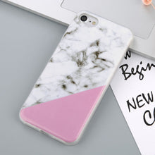 Luxury Soft Silicone Marble Style Case for iPhone