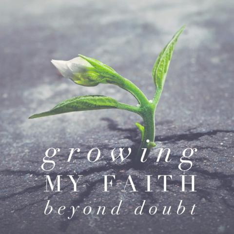 Growing My Faith Beyond Doubt - 6/5/18