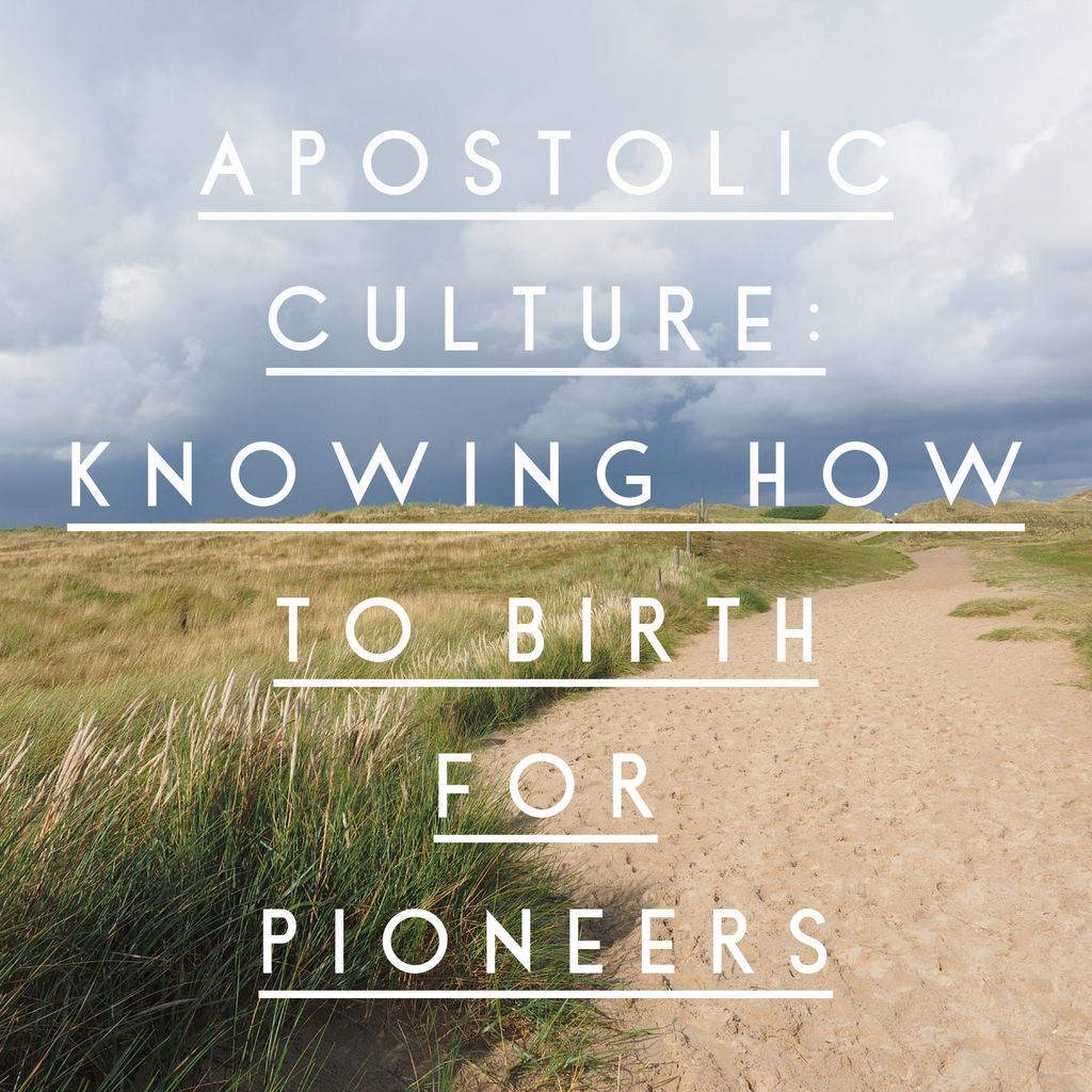 Apostolic Culture: Knowing How to Birth for Pioneers - 3/8/19
