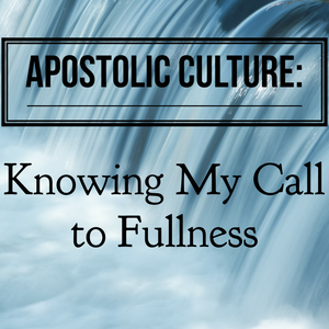 Apostolic Culture: Knowing My Call to Fullness - 3/26/19