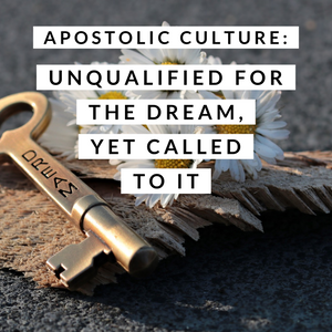 Apostolic Culture: Unqualified for the Dream, Yet Called to it - 4/9/19