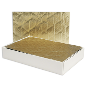 Candy Pad Gold 1 & 2 lb Rectangular