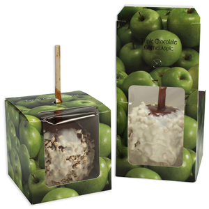 Cube window (Apple Box) Green Apples (250/cs)