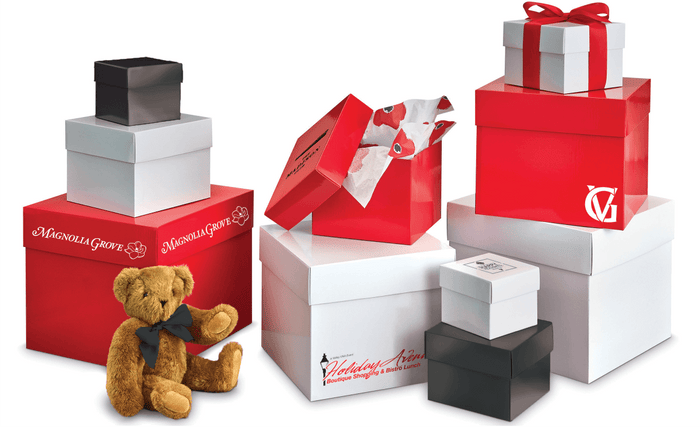 2-Piece Folding Corrugated Gift Boxes