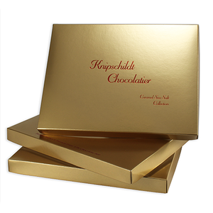 2 lb Rectangular Cover, 1 layer, Gold Lustre (250/cs)