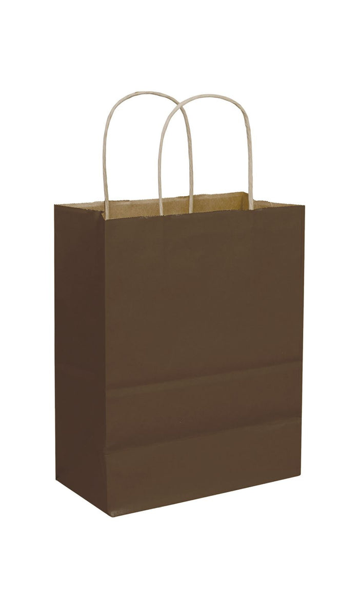 Chocolate Paper Shopping Bags