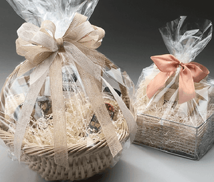 Basket Bags, Flat and Round Bottom