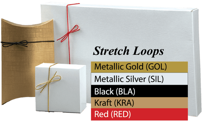 "Stretch Loops: 1/16"" Round Cord (100 Loops/Pkg)"