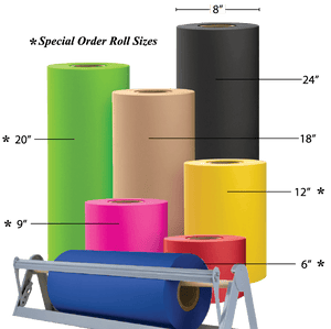 E-Commerce Packing TissueColors - Counter Rolls - Special Order