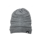 Heather Grey Slouch Srunch