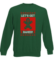 Let's Get Baked - Gingerbread Christmas Jumper