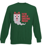 I'm The Ghost Of Christmas Present - Funny Pun Christmas Jumper