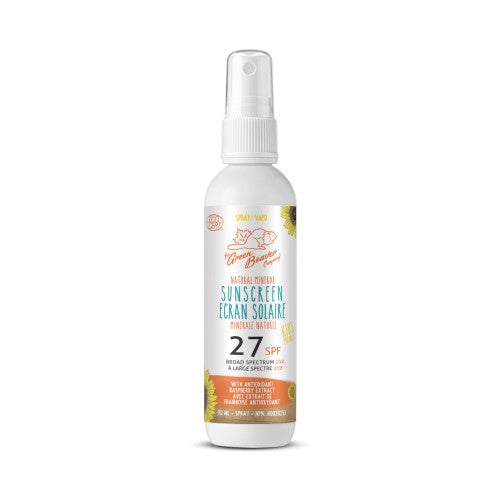 Green Beaver Kids Natural Mineral Sunscreen Spray SPF 27
