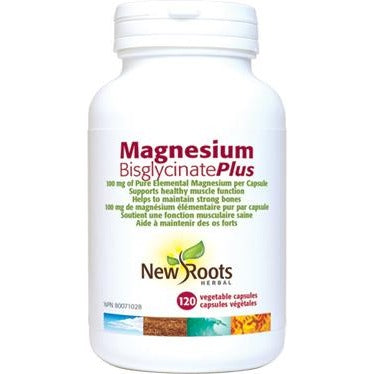 New Roots Magnesium Bisglycinate Plus