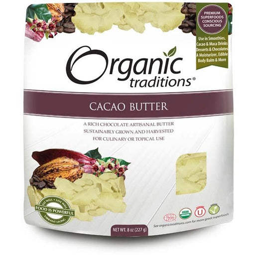 Organic Traditions Raw Cacao Butter