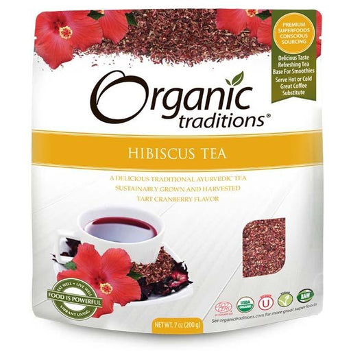 Organic Traditions Hibiscus Tea