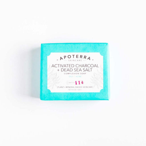 apoterra activated charcoal soap