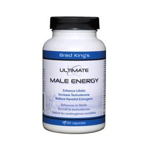 Brad King Ultimate Male Energy 60 Capsules