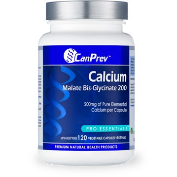Canprev Calcium Malate Bis-Glycinate 200