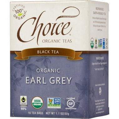 Choice Organic Earl Grey Tea