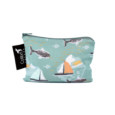 Colibri Reusable Snack Bags - Narwhal