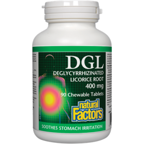 Natural Factors DGL Deglycyrrhizinated Licorice Root