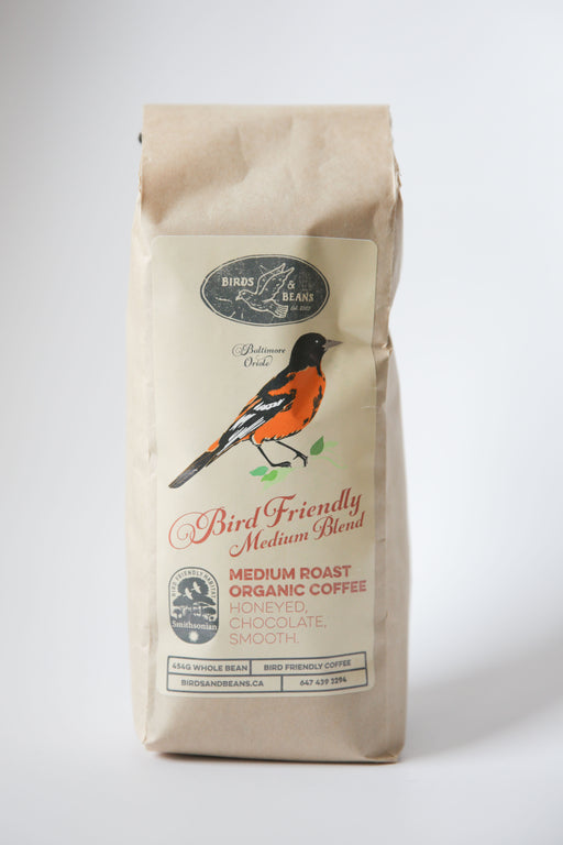 Birds & Beans Bird Friendly Medium Roast Coffee