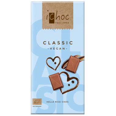 iChoc Classic Vegan Chocolate Bar