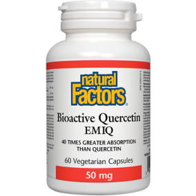 Natural Factors Bioactive Quercetin EMIQ