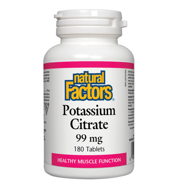 Natural Factors Potassium Citrate