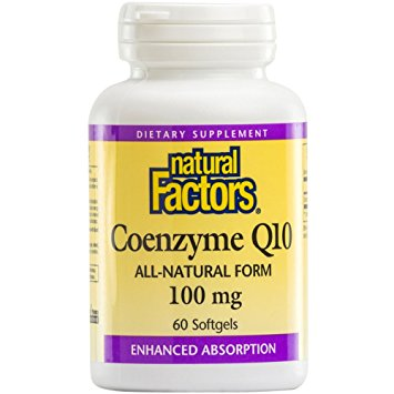 Natural Factors Coenzyme Q10 100mg