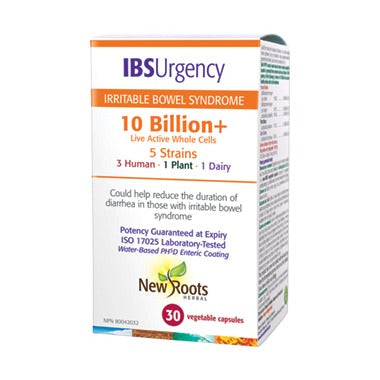 New Roots IBS Urgency probiotics