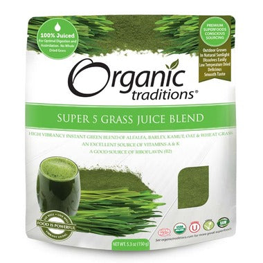 Organic Traditions Super 5 Juice Blend