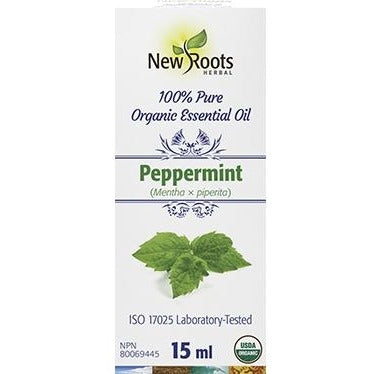 New Roots Organic Peppermint Essential Oil