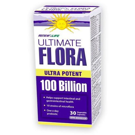 Renew Life Ultimate Flora Potent 100 billion